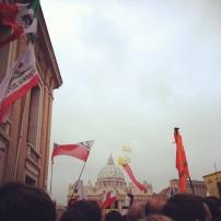 Desde aquí vivimos la canonización de dos grandes Papas